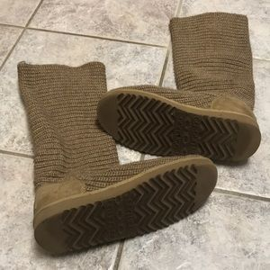 UGG Shoes - Knit Cardy Classic Tan Uggs